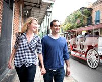 French Quarter Engagement Shoot